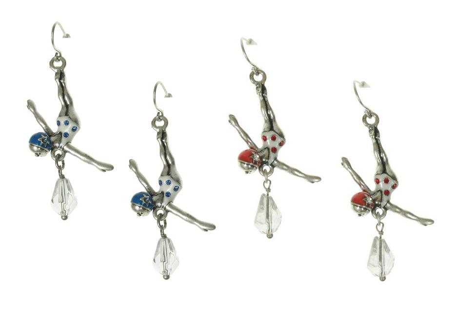 A & C Beach House Small Diver Earrings