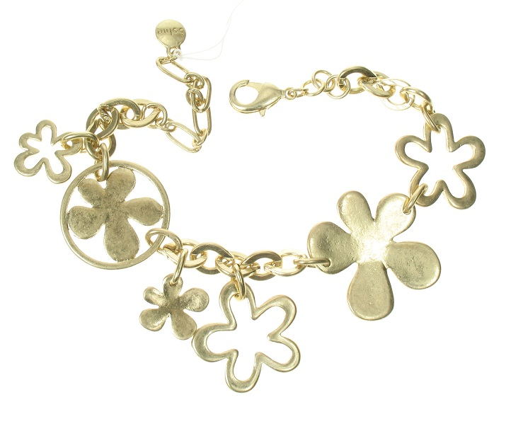 The Bohm Blossom Adjustable Bracelet - Gold Plate