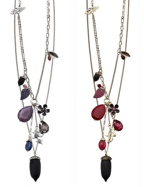 Bohm Autumn Woodland Double Acorn Necklaces