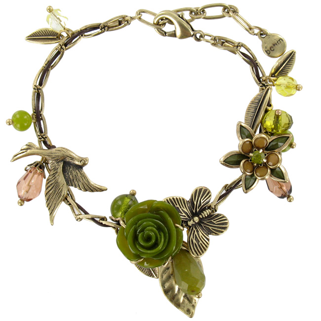 The Bohm - Flowers & Foliage - Adjustable Bracelet