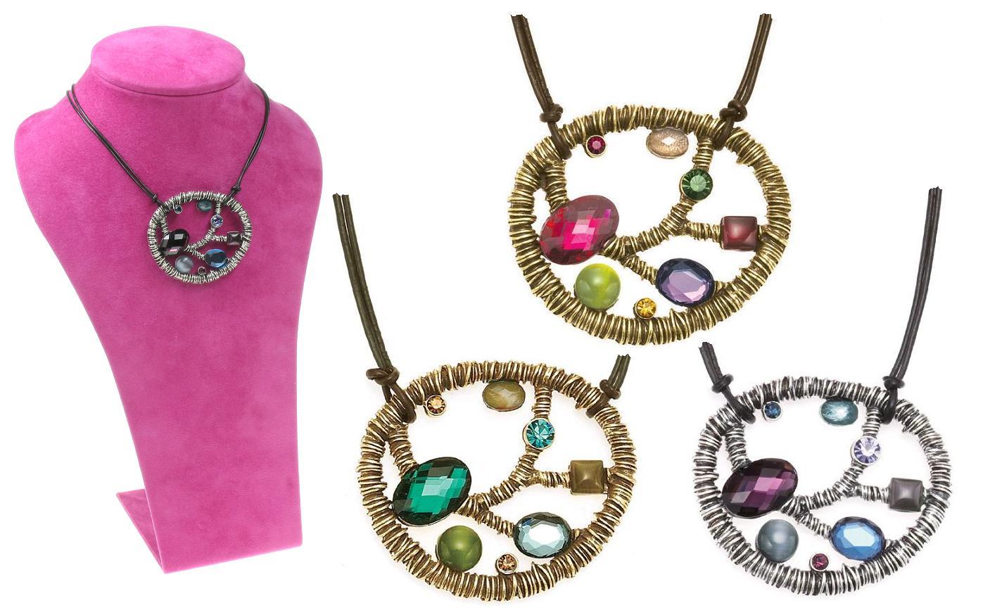 The Bohm Arcadian Opulence Large Pendant Necklace