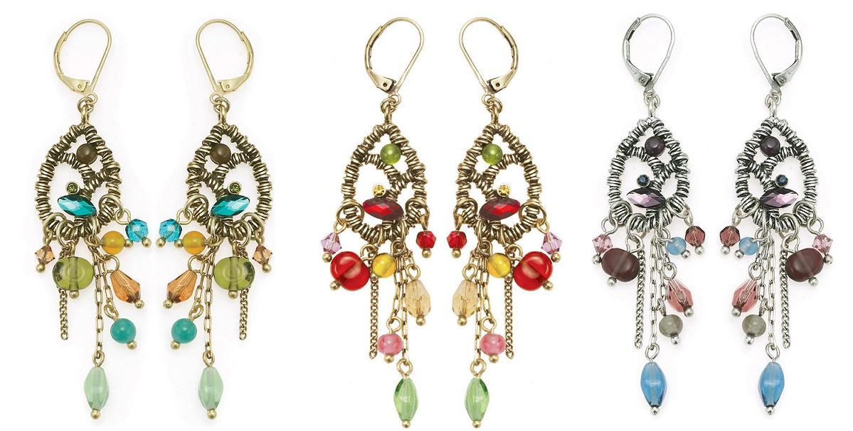 The Bohm Arcadian Opulence Cascade Earrings