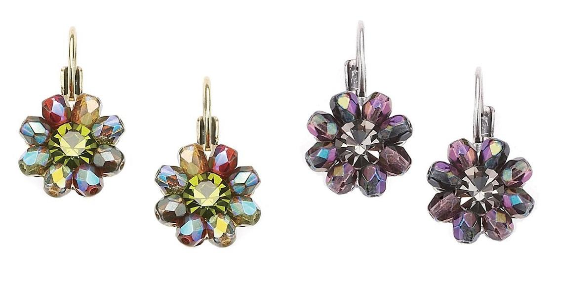 The Bohm - Wild Flower - Flower Beaded Earrings