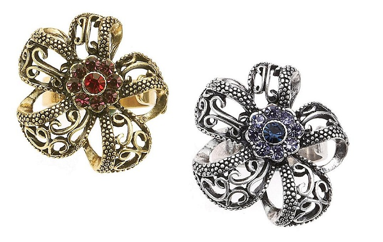 The Bohm - Wild Flowers - Adjustable Flower Ring