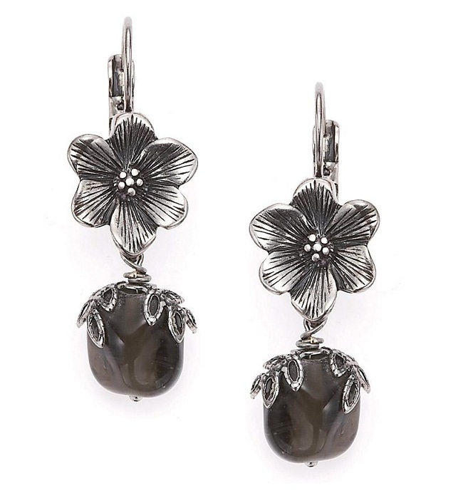 The Bohm - Autumn Leaves - Flower Drop Earrings