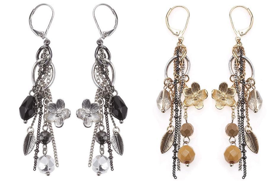 Bohm Multi Stranded 'In Chains' Earrings