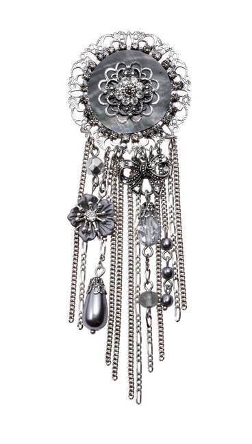 Bohm Victorian Ritz Cascade Brooch/Pin