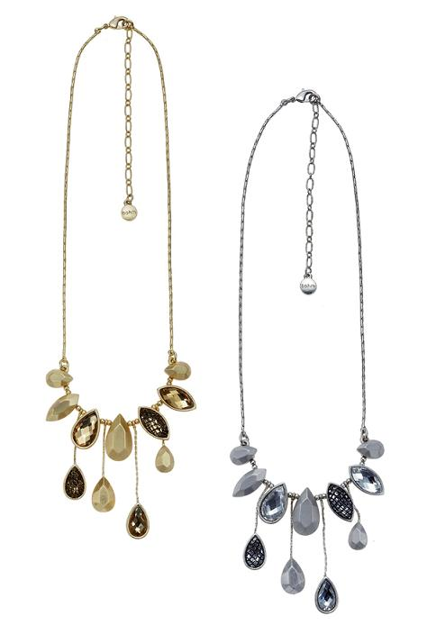 The Bohm Eternal Attraction Crystal Drop Necklace