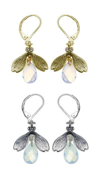 The Bohm 'Blossoms' Insect  Earrings