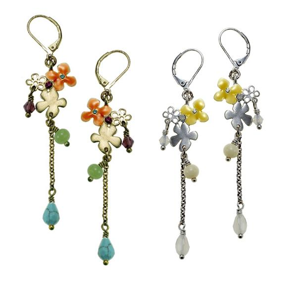 The Bohm Delicate Trinkets Dangly Earrings