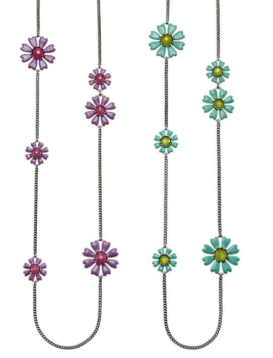 The Bohm Picturesque Flower Longer Length Necklace