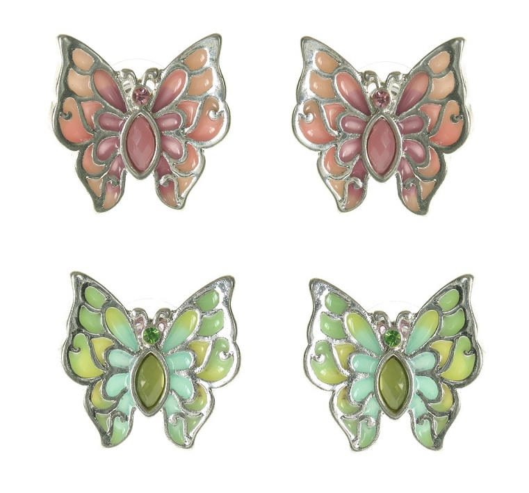 The Bohm Picturesque Butterfly Stud Earrings