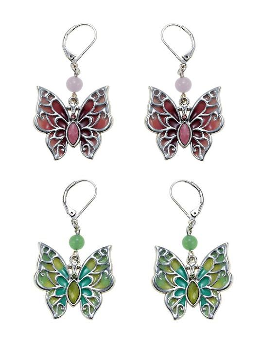 The Bohm Picturesque Butterfly Earrings
