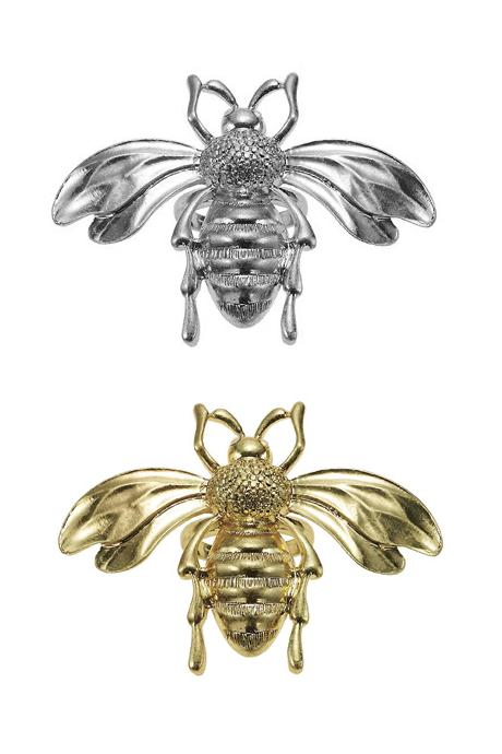 The Bohm Paradise Adjustable Large Bee Ring