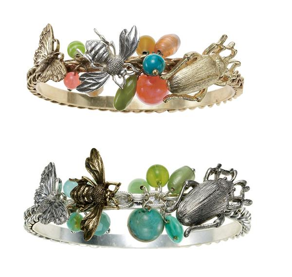 The Bohm 'Paradise' Insect Bangle