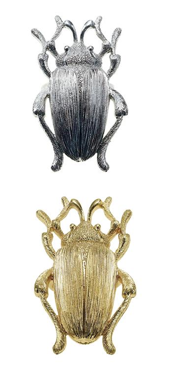 The Bohm Paradise Adjustable Beetle Ring