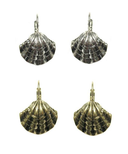 The Bohm Beach Comber Sea Shell Earrings