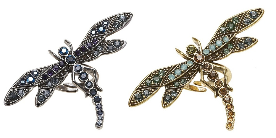Enchantment Dragonfly Ring - Adjustable Size