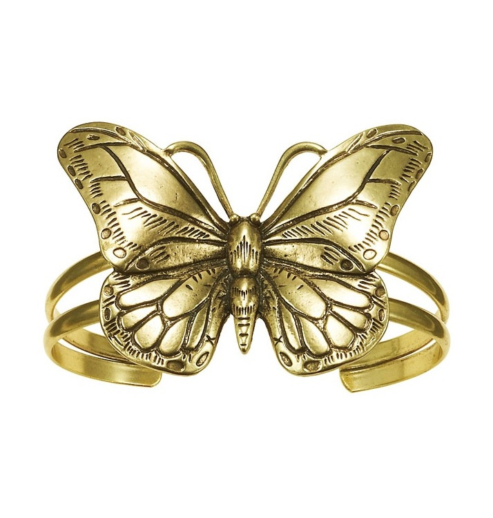The Bohm Butterfly Romance Cuff Bracelet - Gold