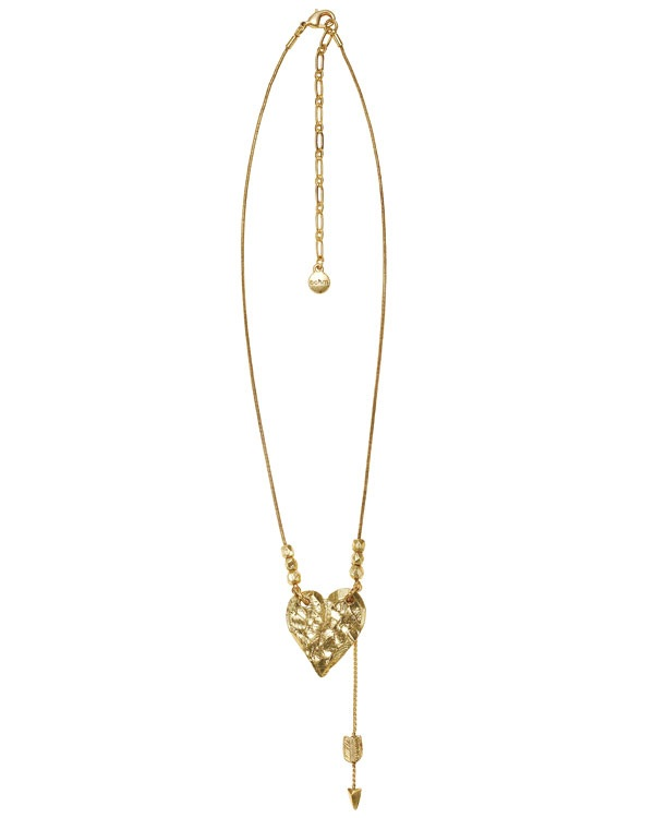 Bohm Hearts Desire Pendant Necklace - Gold Plate