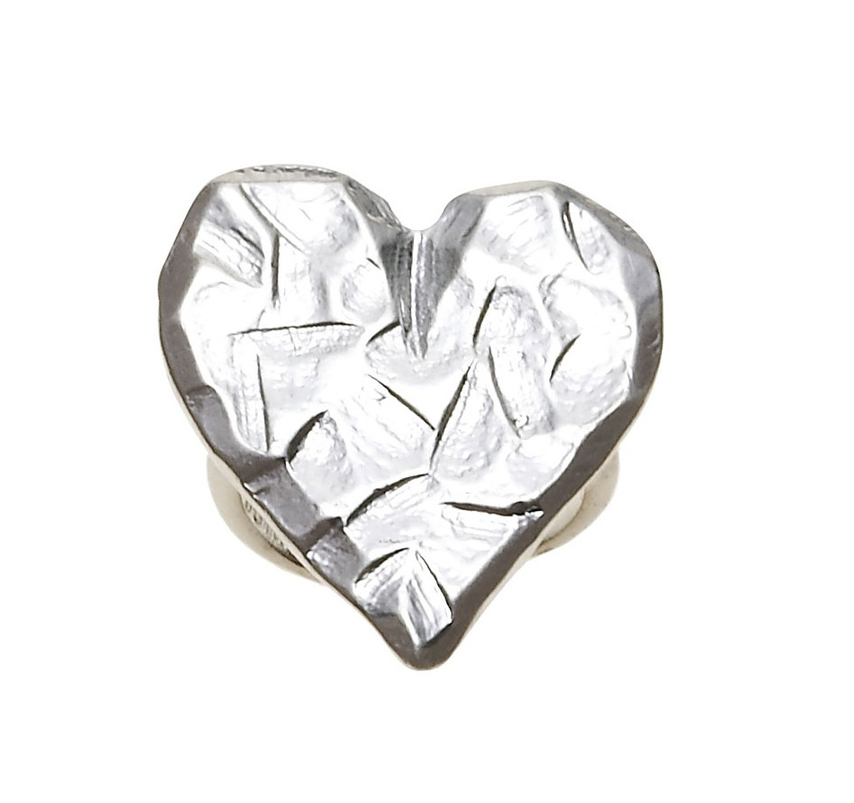 Bohm Hearts Desire Adjustable Ring - Silver Plate