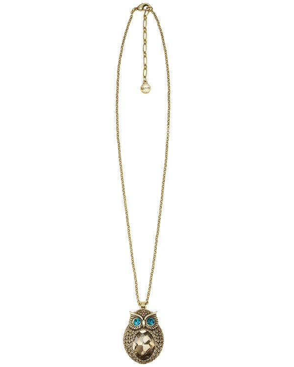The Bohm - OWL Cosmo Sense - Pendant Necklace - Gold Plate