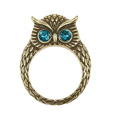 The Bohm - OWL Cosmo Sense - Ring - Gold Plate