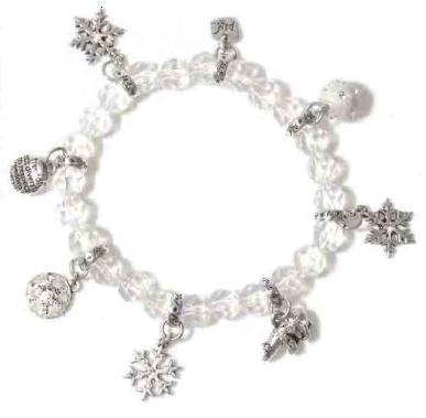 A & C Winter Dream Crystal Stretch Bracelet