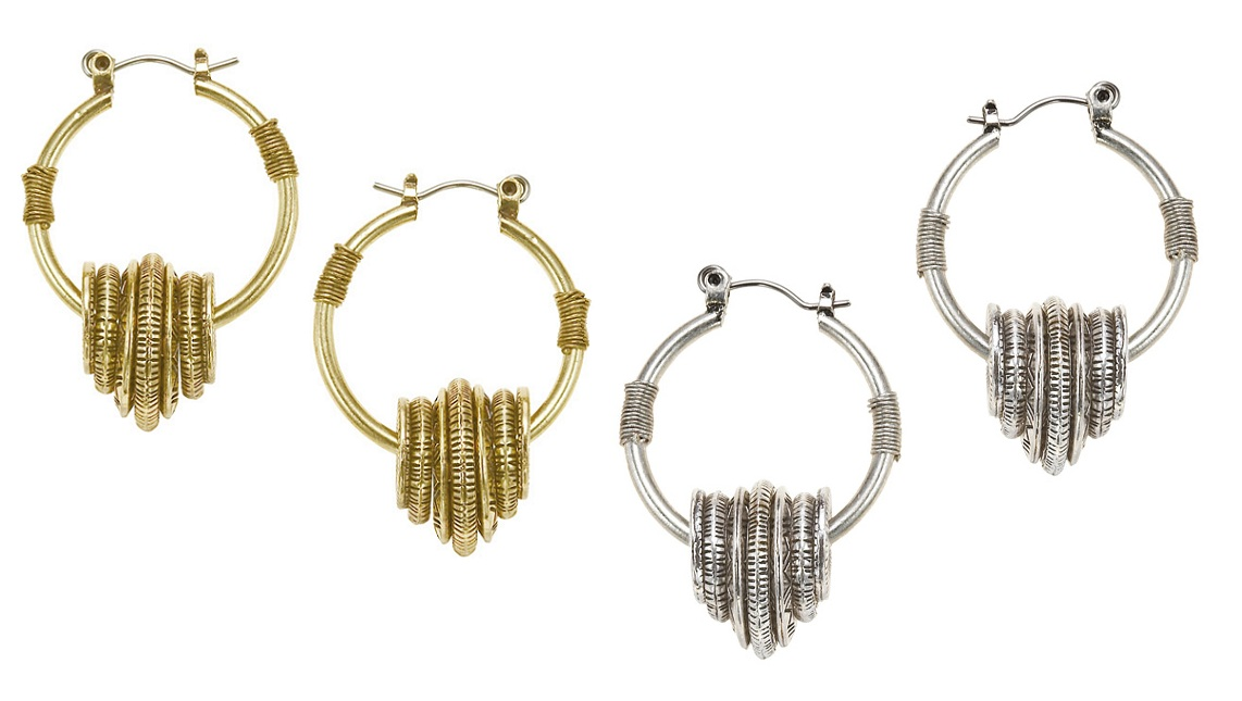 The Bohm - Labyrinth - Hoop Earrings
