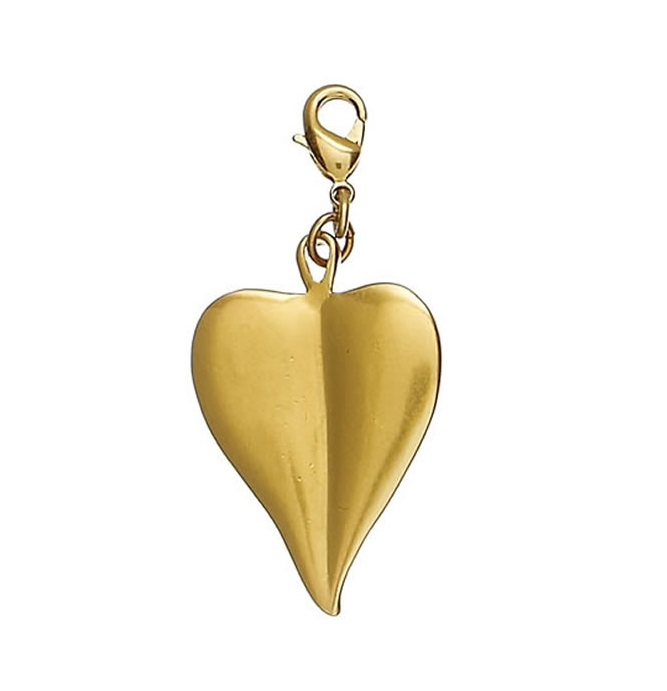 Ornamental Heart - Gold Plate