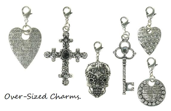 Medium & Large Sized Clasp Charm Collection