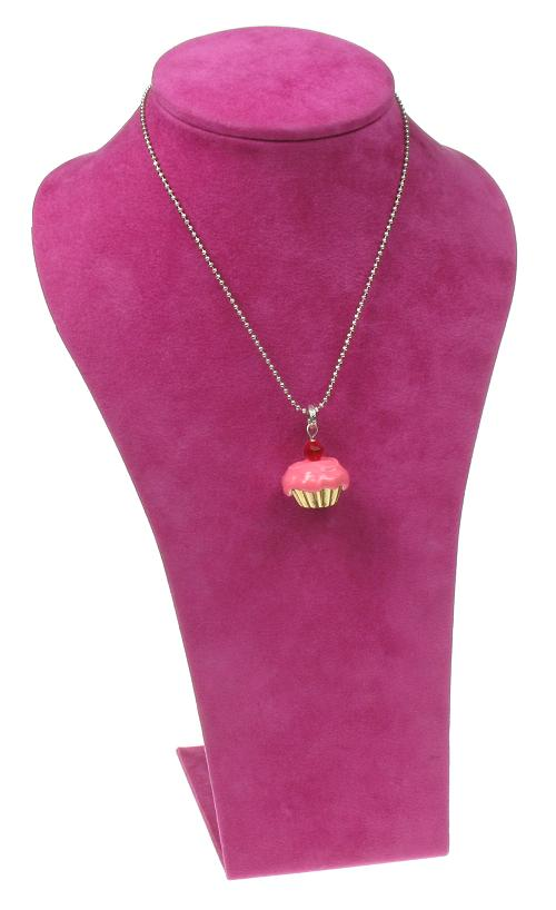 A & C Cup Cake Necklace