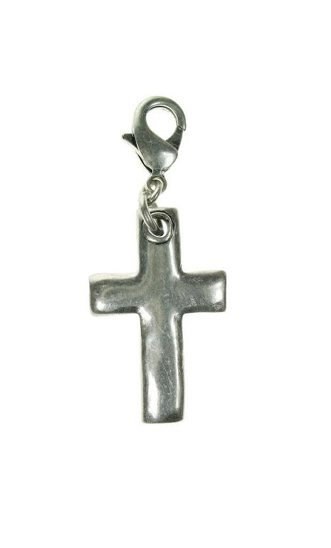 A & C Chunky Plain Cross Charm