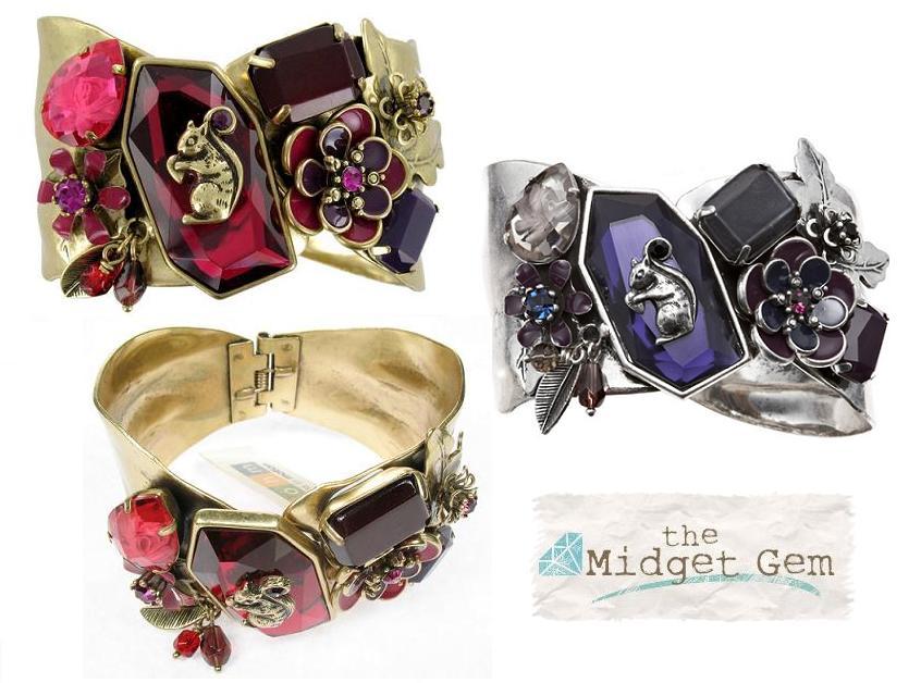 Bohm Autumn Woodland Cuff Bracelet