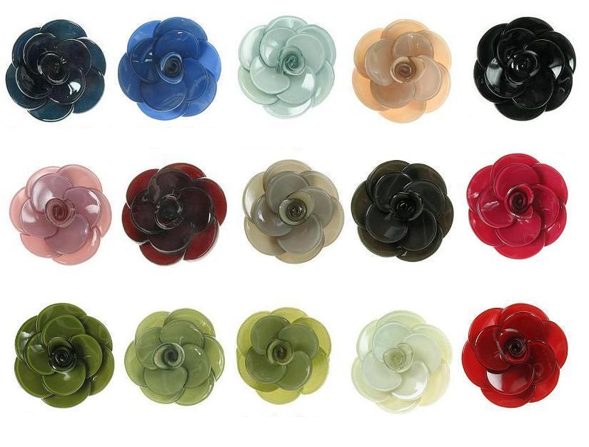BIG BABY Small Rose Flower Hair Slide/Clip - Colour Set 1