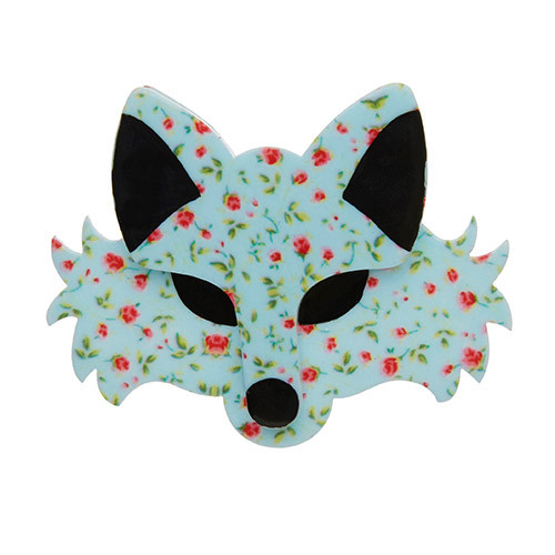 Brida the Botanical - Erstwilder Fox Brooch