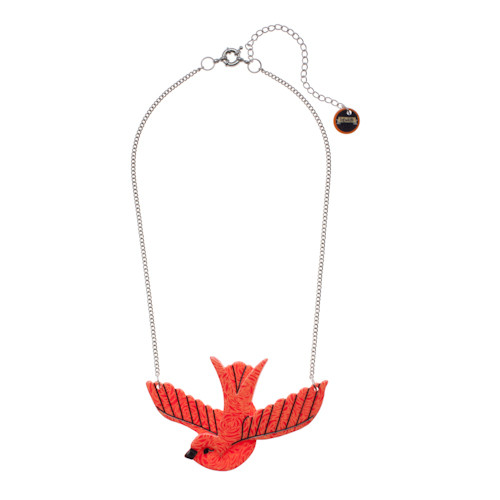 Flying with Fifi - Erstwilder Bird Necklace