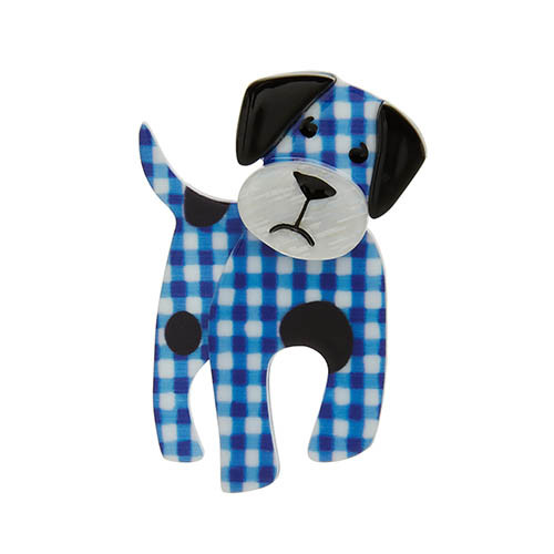 Madeline the Muddled Mutt - Erstwilder Dog Brooch