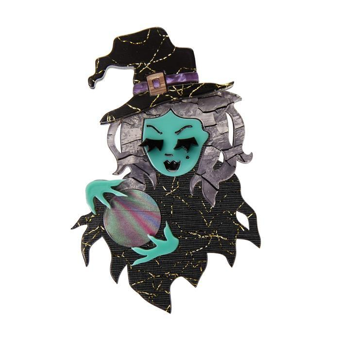 Not So Wicked - Erstwilder Witch Brooch