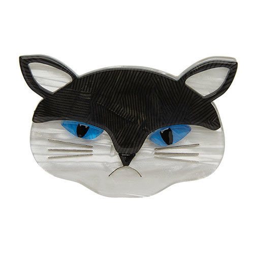 Sour Puss - Erstwilder Cat Brooch