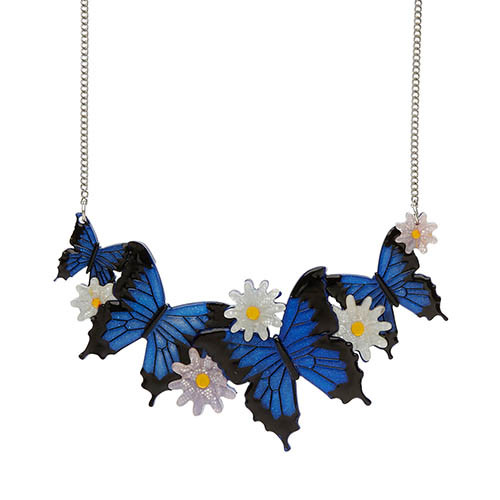 Tropical Odyssey - Erstwilder Butterfly Necklace