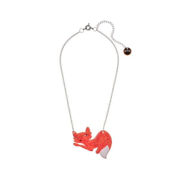 Mimi the Foxy Minx - Erstwilder Fox Necklace