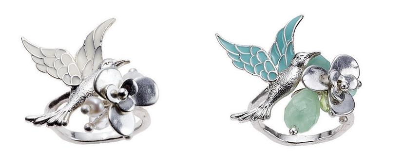 Bohm Love Birds Adjustable Ring