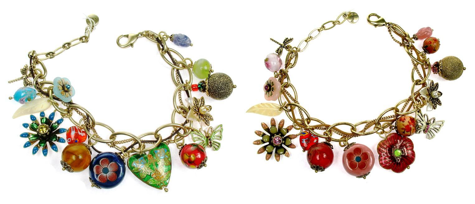 Bohm Summertime Jamboree Adjustable Charm Bracelet