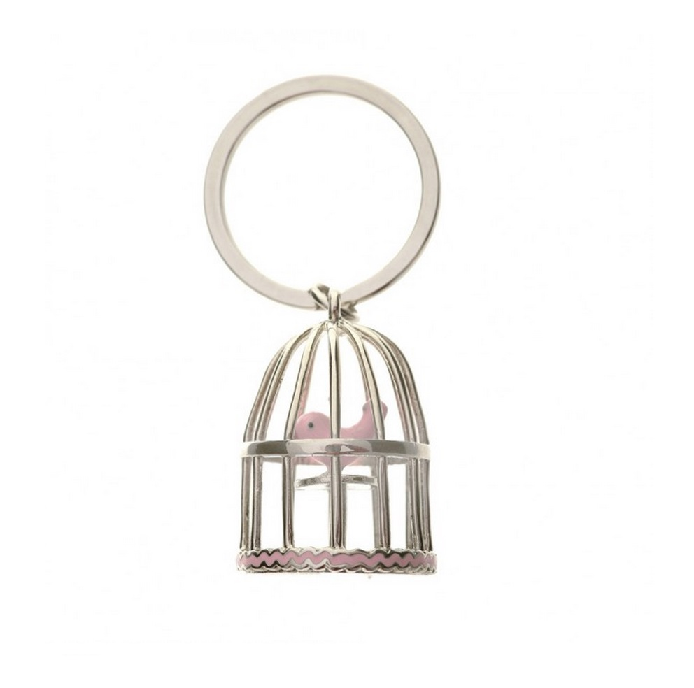 Bombay Duck Cute Tweety Bird Cage Key Ring
