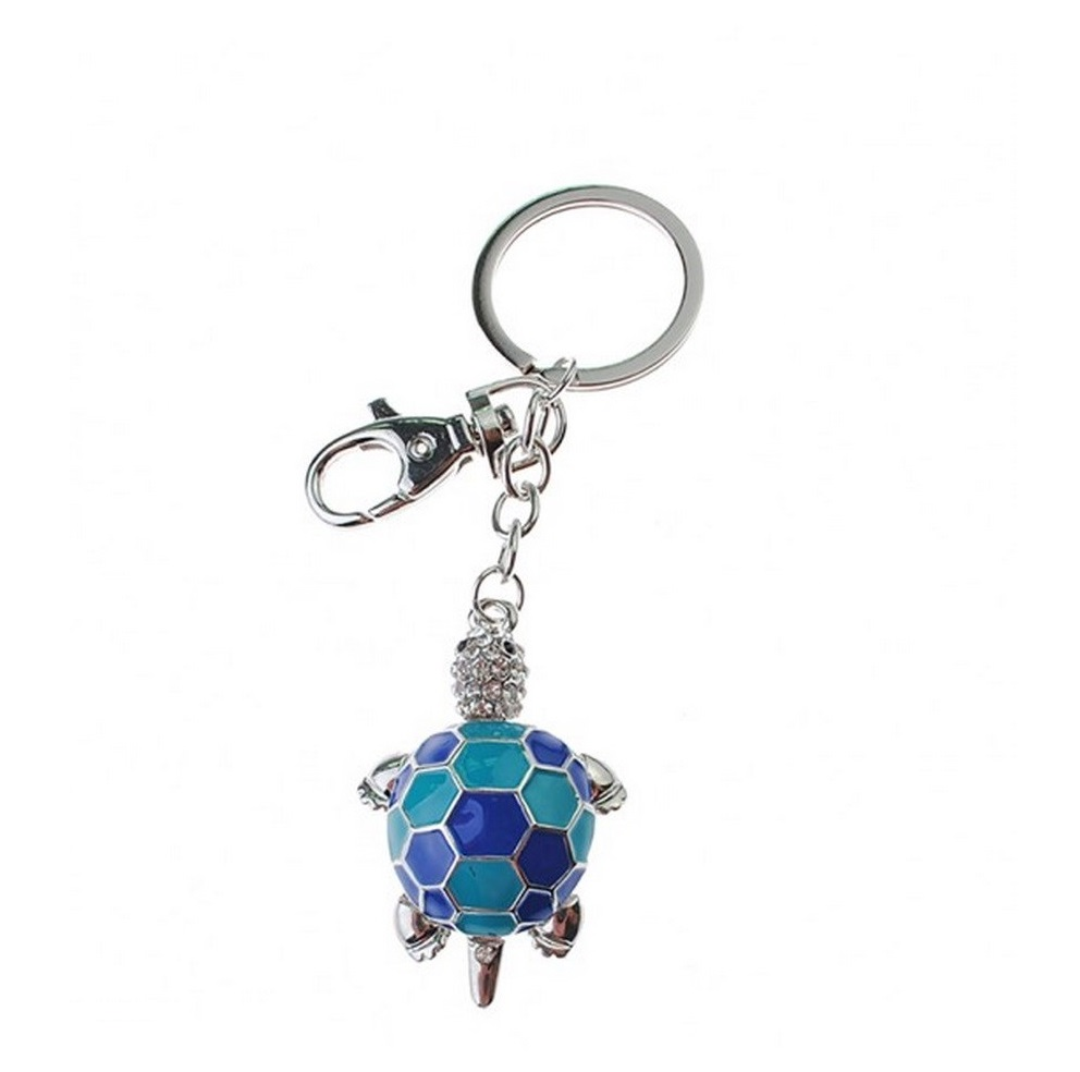 Bombay Duck Cute Articulated Turtle Tortoise Key Ring