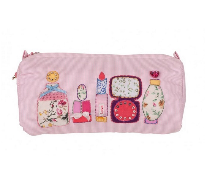 Bombay Duck 'Buttongirl' Make-Up/Cosmetics Bag