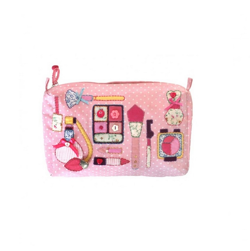 Bombay Duck 'Buttongirl' Make-Up/Wash Bag