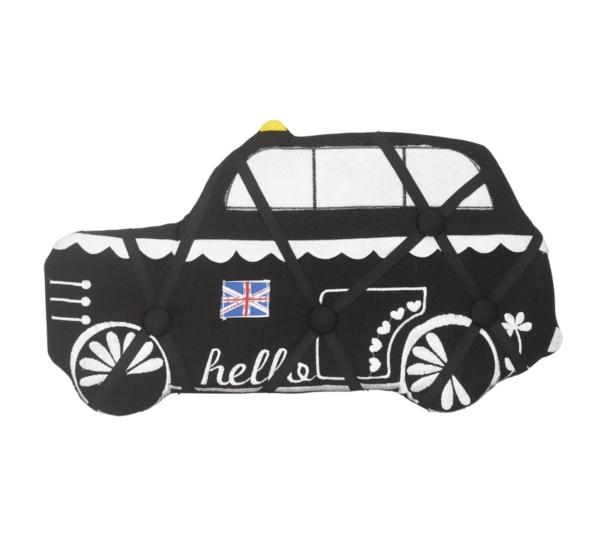 Pretty City Black London Cab Notice Board