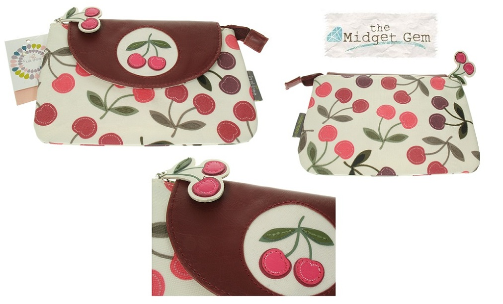 Fruit Tree Cherry Make Up Case - Wipe Clean Surface
